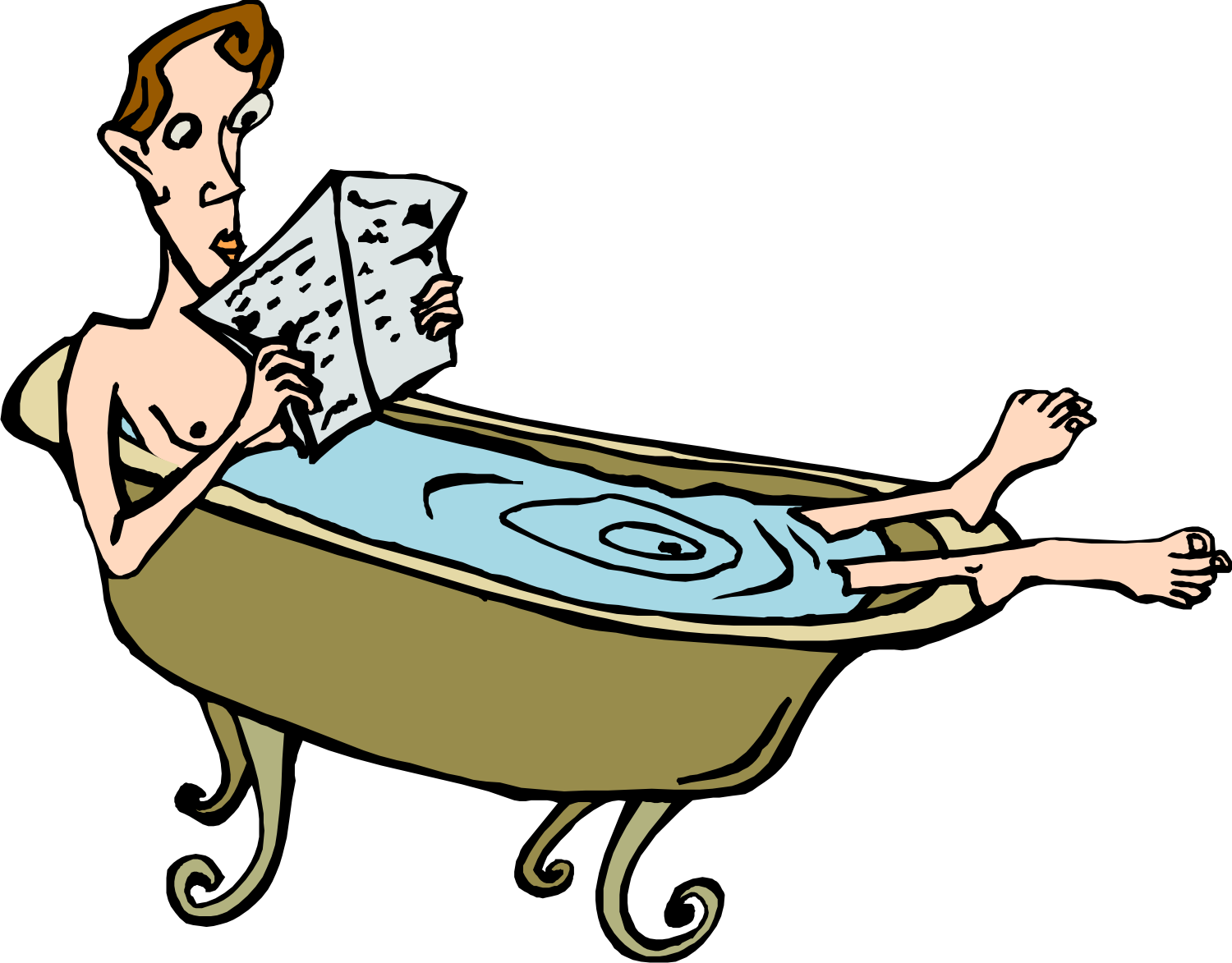 National Read in the Bathtub Day | oldspouse