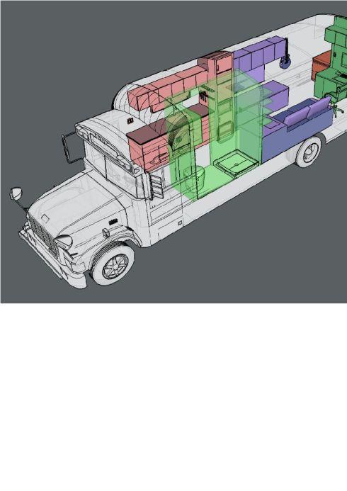 187e. Bus 3D Model